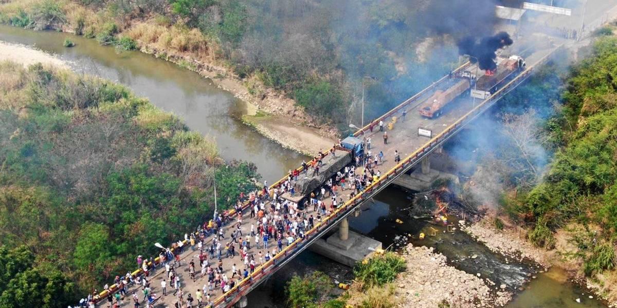 Nunca fue Maduro: New York Times revela que camión con ayuda humanitaria fue quemado por manifestante opositor