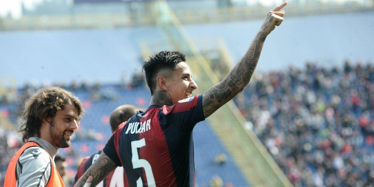 """El """"goleador"""" Erick Pulgar guió el camino en importante triunfo del Bologna que le da respiro en el Calcio"""