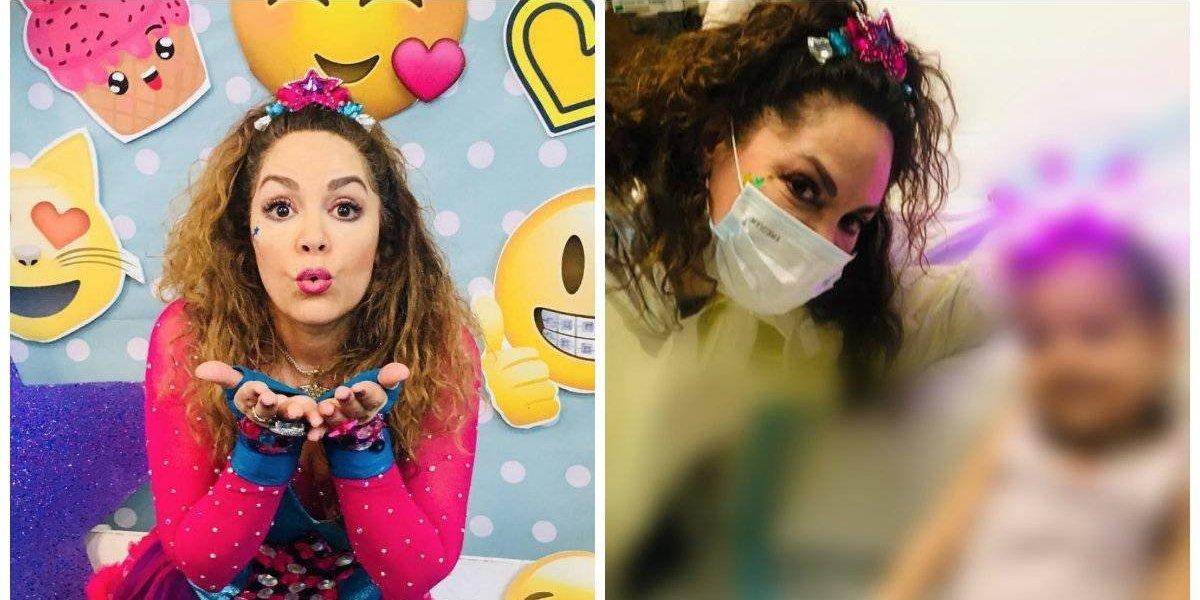 Tatiana le cumple su último deseo a una pequeña con cáncer