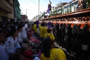 Jesús Nazareno del Consuelo por las calles del Centro Histórico