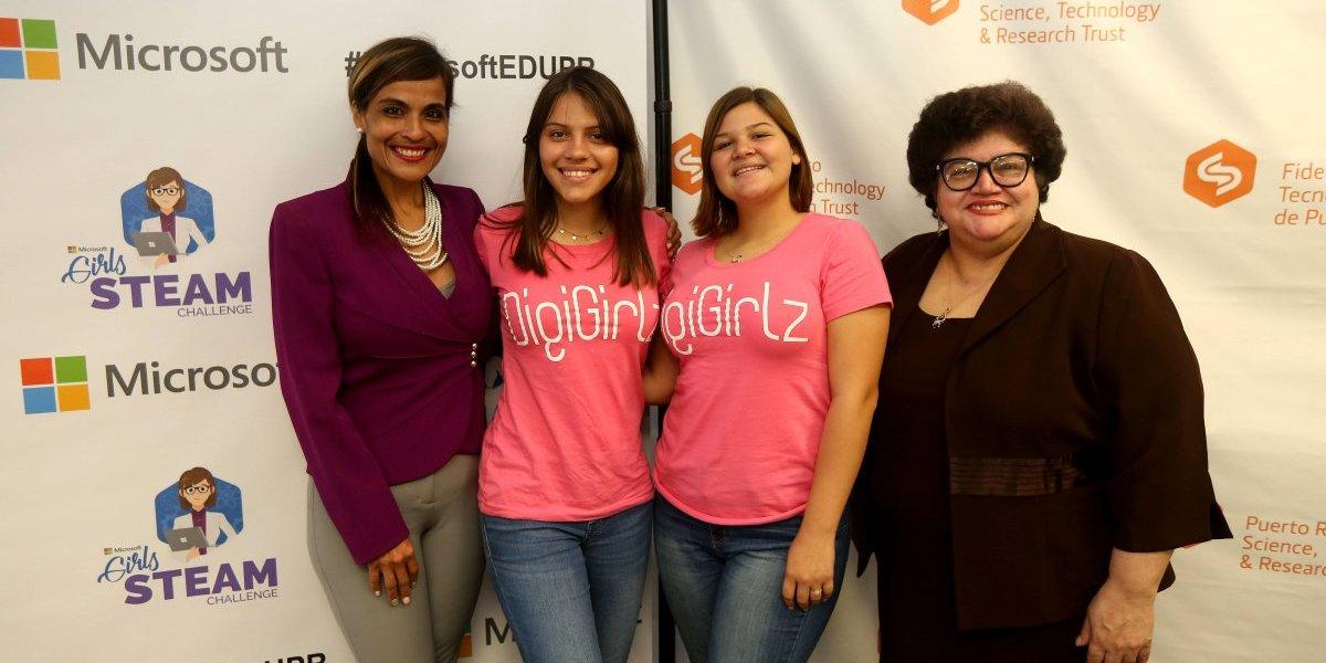 Convocan a estudiantes al Primer Microsoft Girls STEAM Challenge