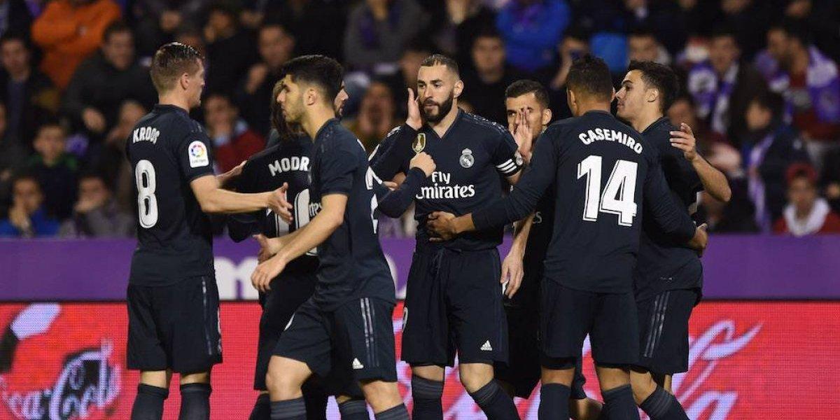 Real Madrid recupera la memoria y la pegada