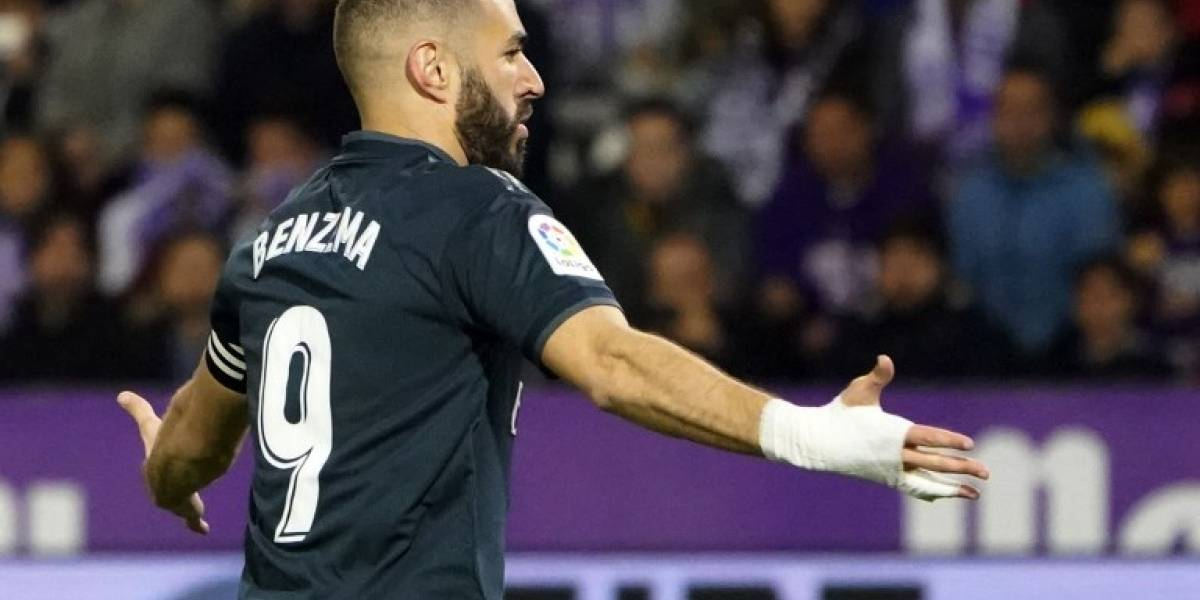Benzema intenta aliviar la crisis del Madrid