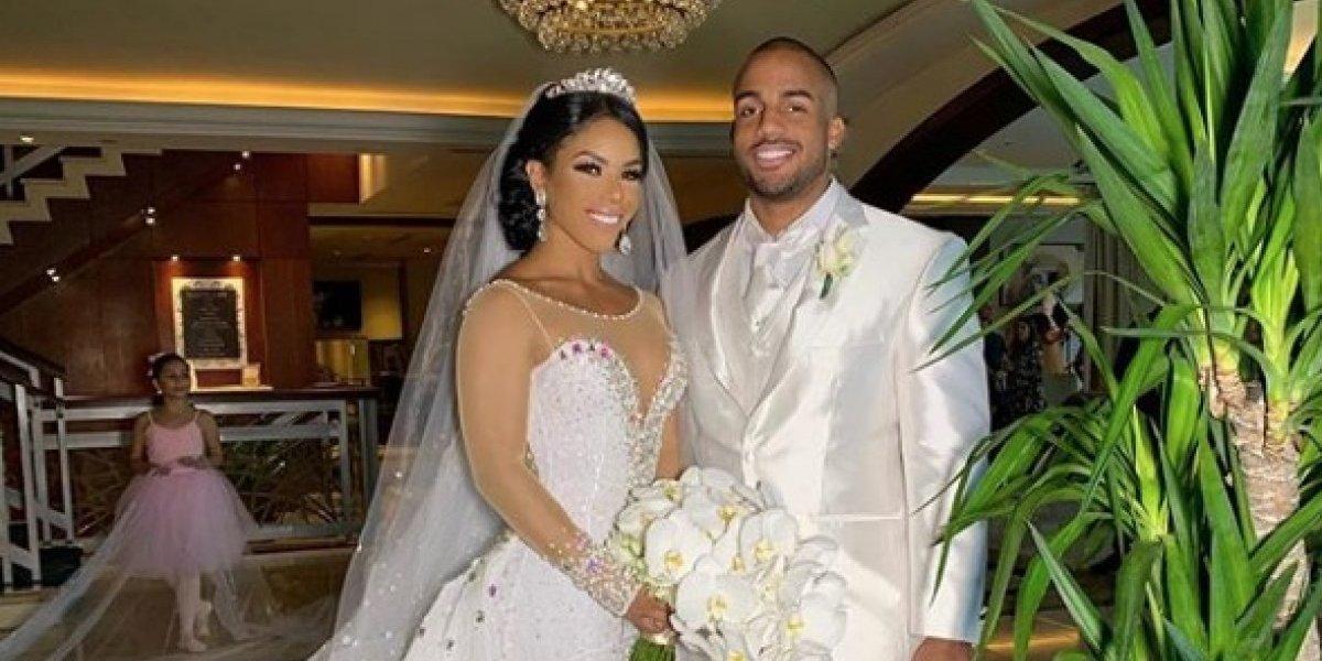 Yarishna Ayala cumple su sueño y se casa con su príncipe azul