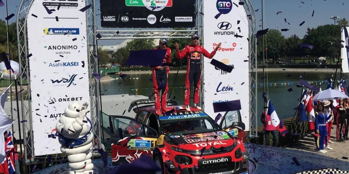 Sebastien Ogier gana el Rally México por quinta ocasión
