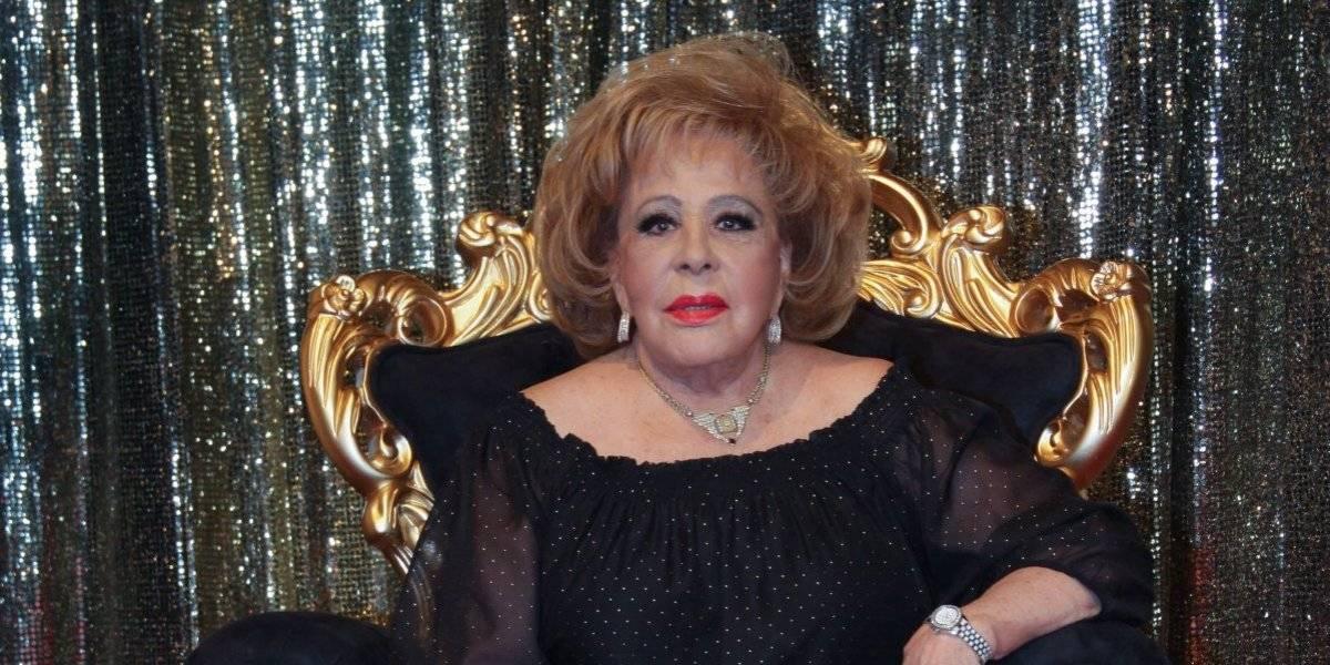 Reportan hospitalización de Silvia Pinal; Televisa desmiente información