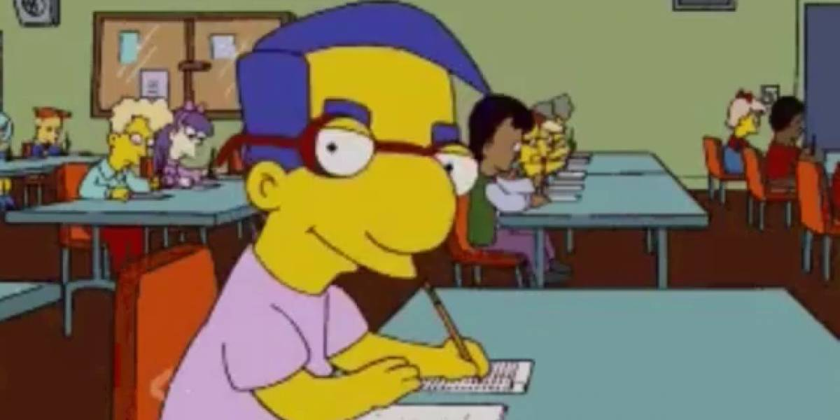 Internet tiene un nuevo reto basado en Los Simpsons: El Milhouse Challenge