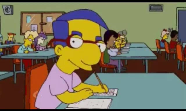 Simpsons Milhouse