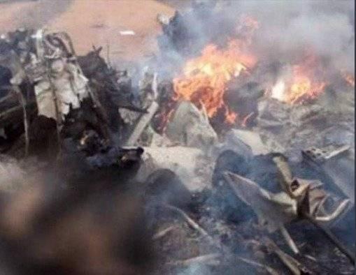 Tragedia aérea enlútese a Colombia