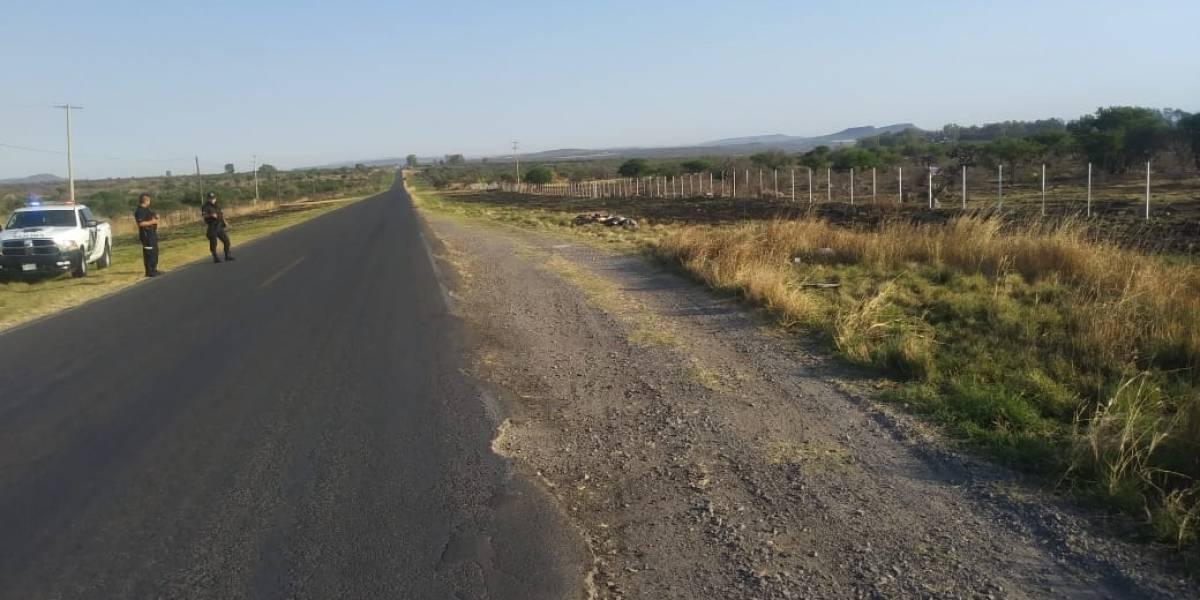 Localizan siete cuerpos abandonados en carretera de Los Altos de Jalisco