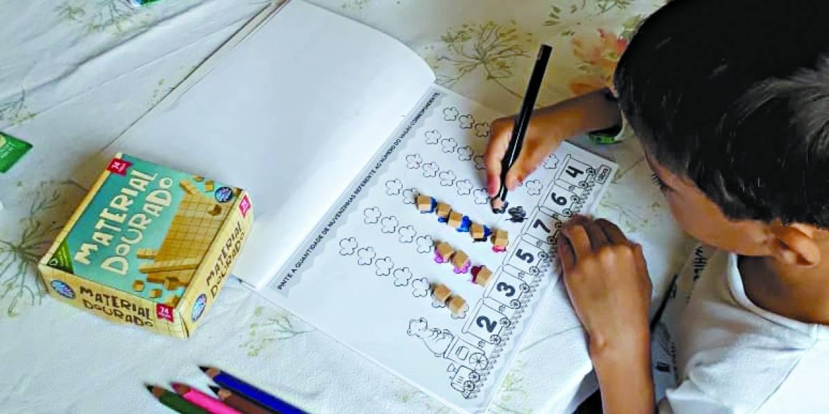 Dicas para as crianças estudarem durante a quarentena do Covid-19