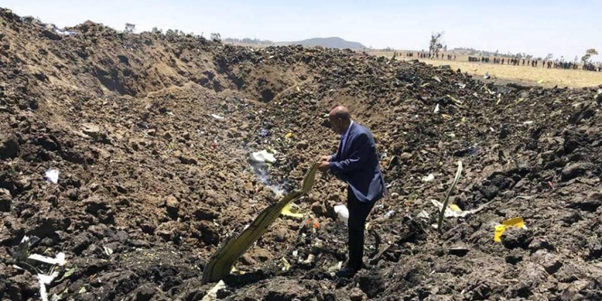 Accidente de avión en Etiopía deja 157 muertos de 35 países