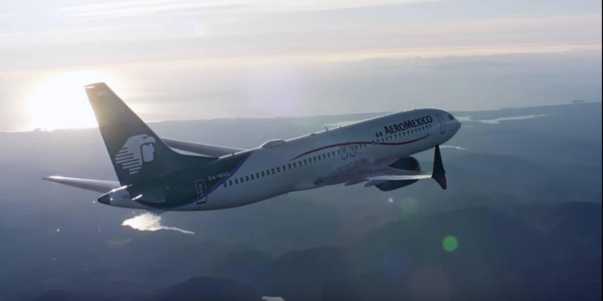 Aviones Boeing 737 MAX 8 de Aeroméxico están en perfectas condiciones