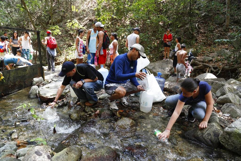 agua Venezuela. AP