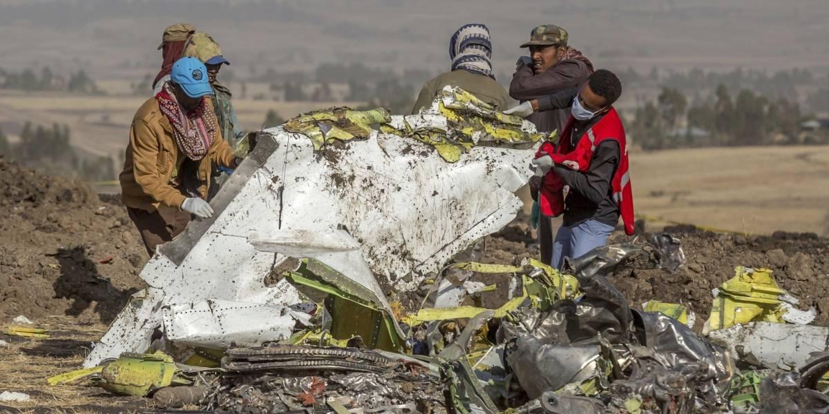 """Hallan las """"cajas negras"""" tras accidente de avión en Etiopía"""