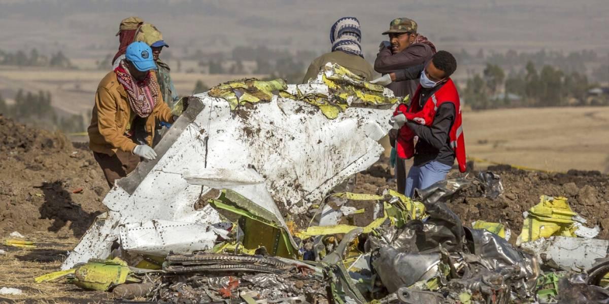 Tras accidente, Ethiopian Airlines deja de usar sus Boeing 737 Max 8