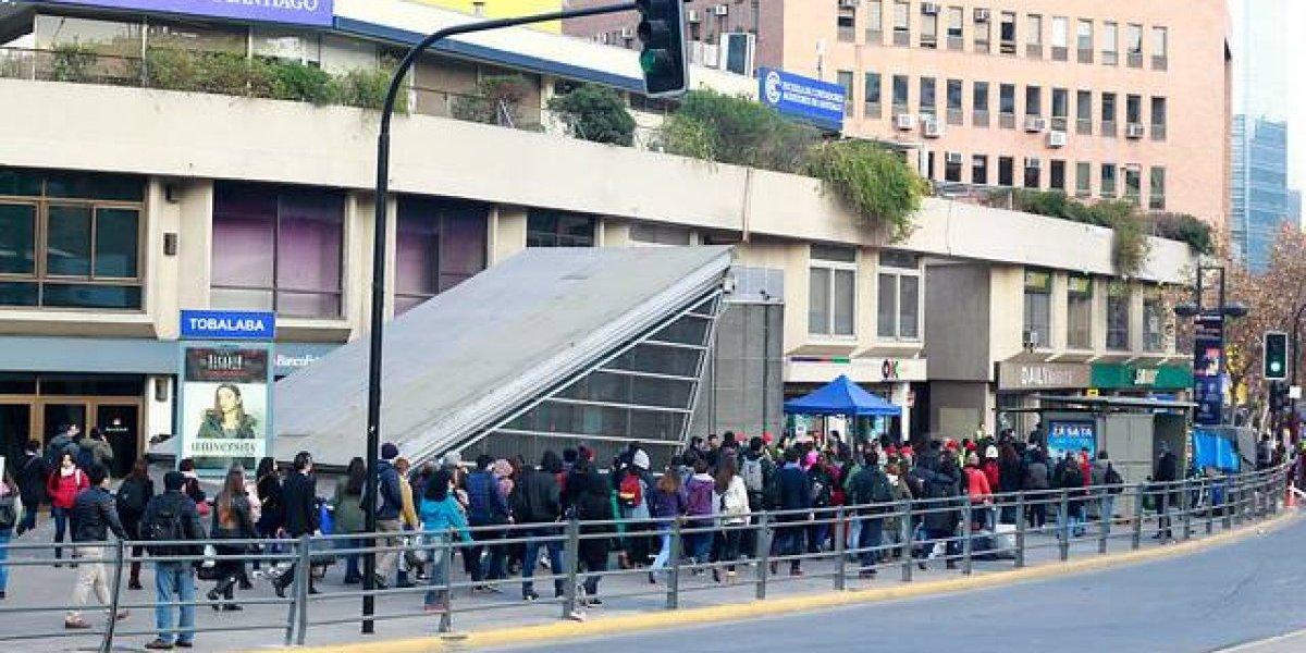 #AlertaMetro finalizada: Línea 4 volvió a estar disponible tras pasar más de una hora con 9 estaciones suspendidas
