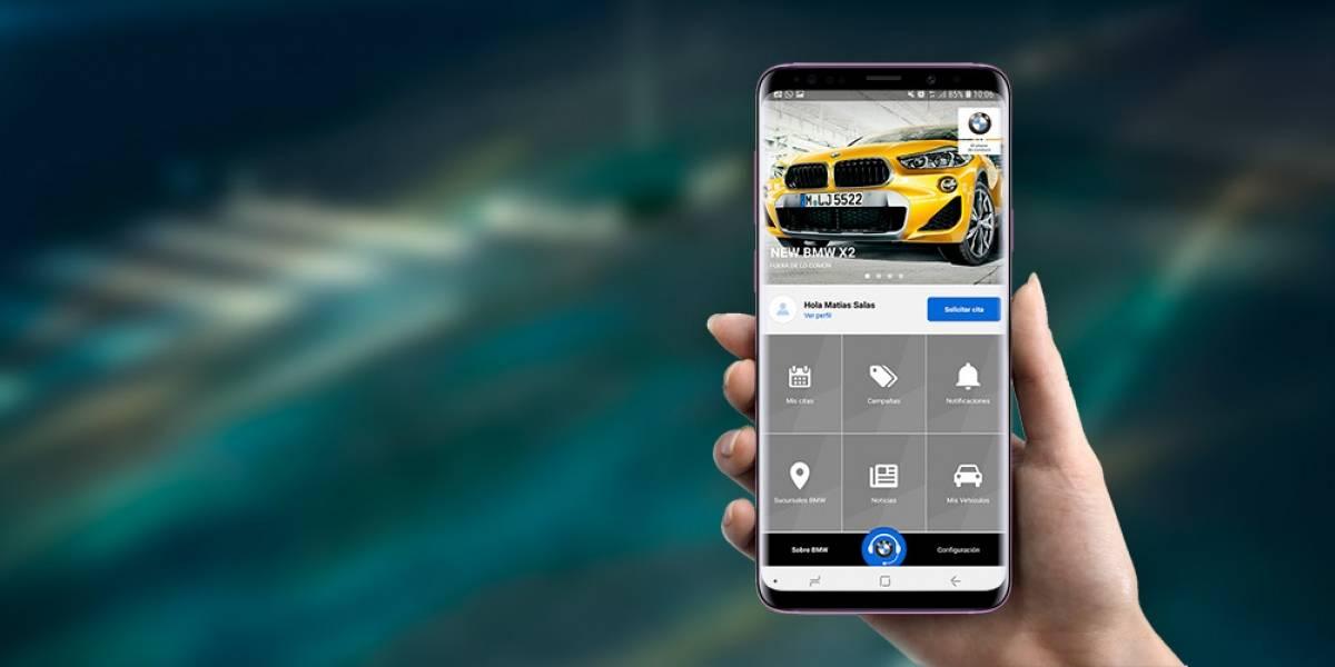 A través de una app, los clientes de BMW pueden agendar su servicio
