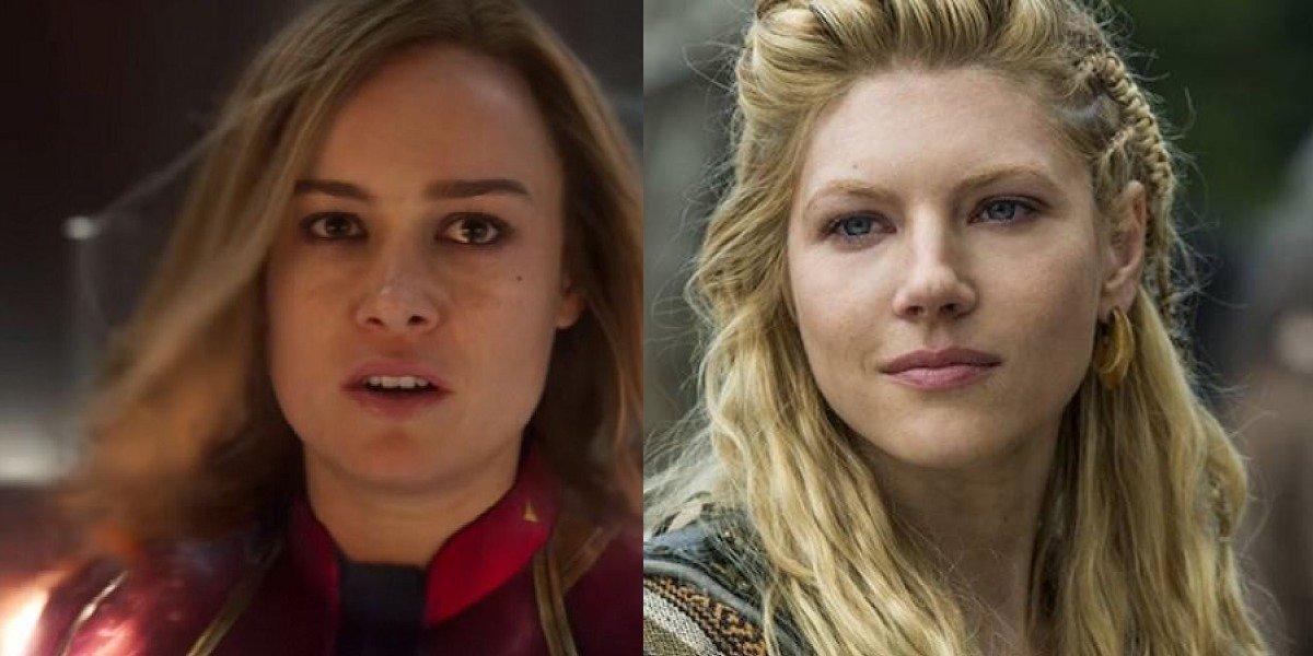 Capitana Marvel: Lagertha reaccionó así a la película