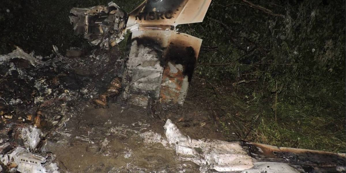 Manabí: Avioneta con matrícula extranjera se estrelló en Montecristi