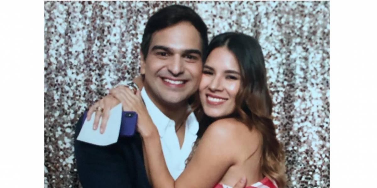 Conozca a la bella esposa de Alejandro Palacio que roba miradas en redes