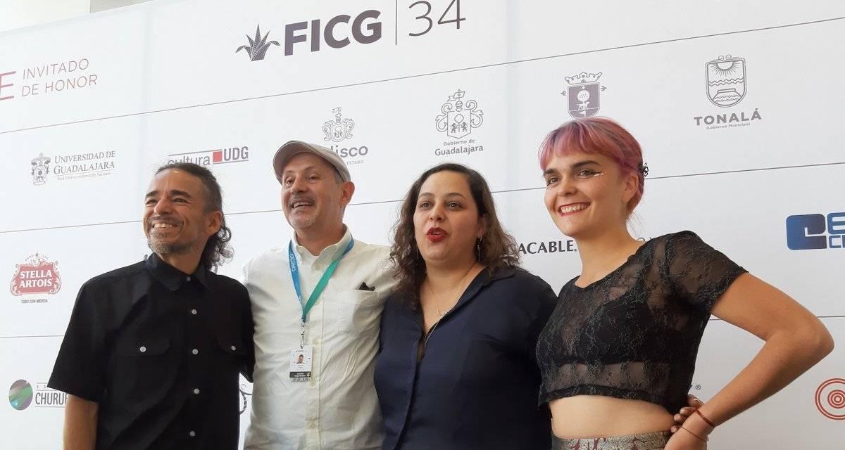 Rubén Albarrán y Camila Moreno en el FICG