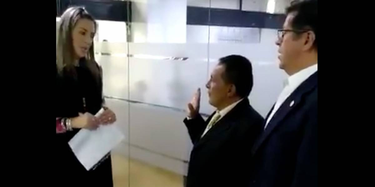 El exconcejal 'Lucho' tomó juramento y volvió al Concejo de Bogotá