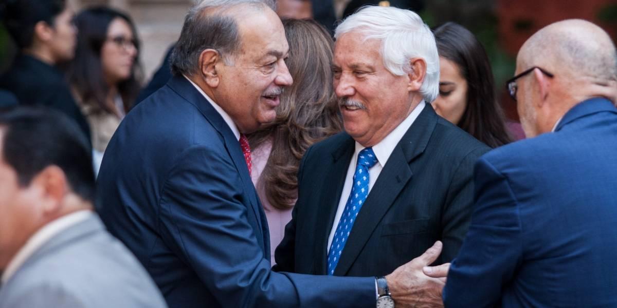 """Plan económico de AMLO es """"viable"""" para Slim; pide darle tiempo"""
