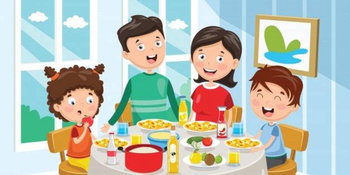 Nuestra Familia: Beneficios de comer en Familia