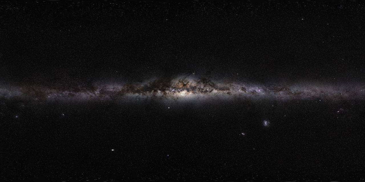 Científicos detectan campo magnético invisible el cual está asfixiando el agujero negro de nuestra galaxia