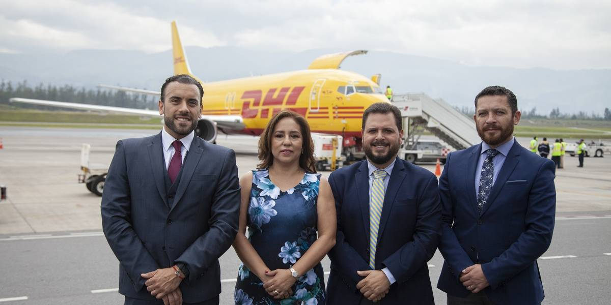 DHL se incorpora a la oferta de transporte de carga en el Aeropuerto Internacional de Quito