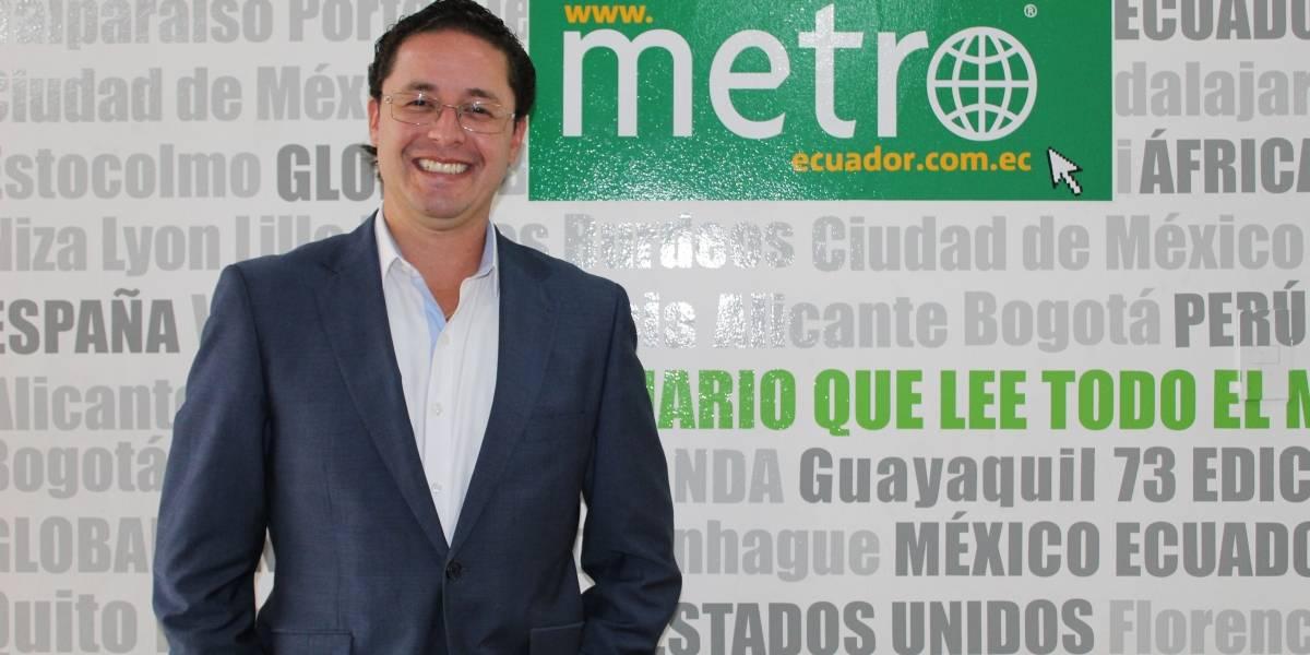 Patricio Ubidia trabajará en el liderazgo de Pichincha desde la Prefectura