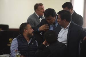 Reunión jefes de bloques