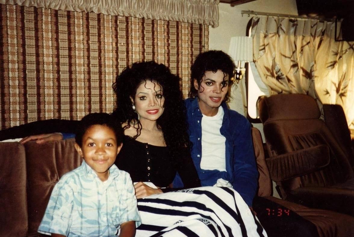 Michael Jackson y La Toya Jackson