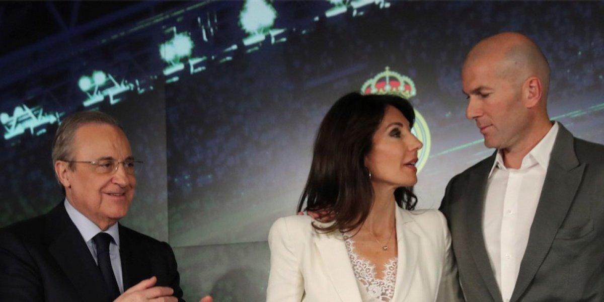 Usuarios se divierten en las redes con la llegada de Zidane al Real Madrid