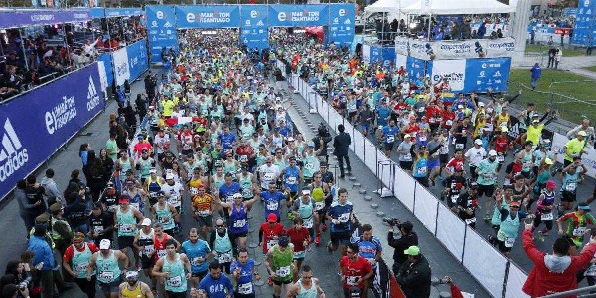 Maratón de Santiago buscará romper récord Guinness con iniciativa solidaria