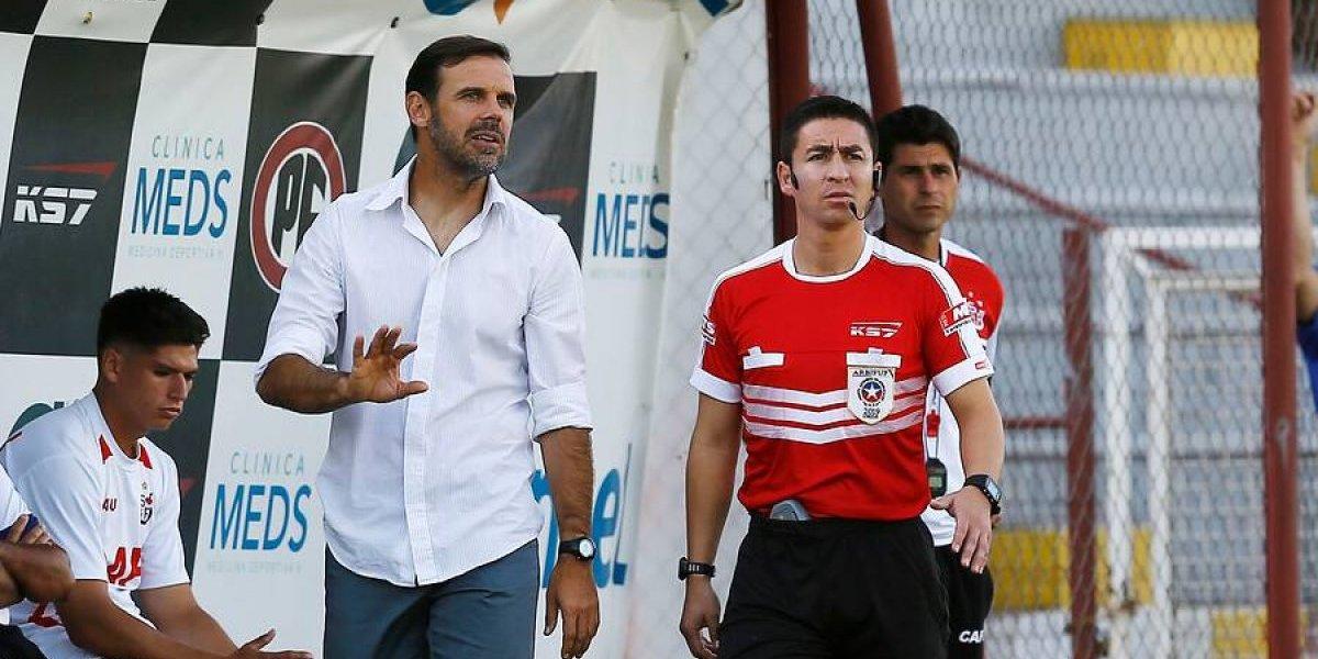 """Unión San Felipe despide a su DT por la """"pobreza futbolística"""" que mostró el equipo"""