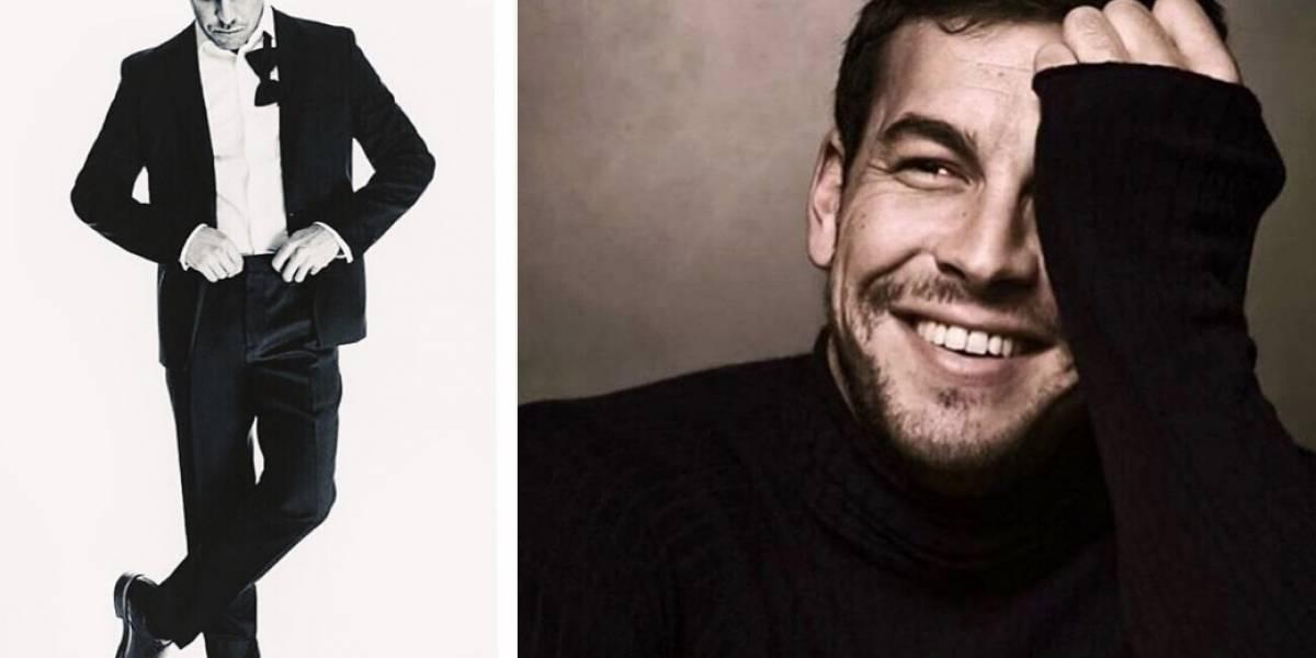"""Las primeras imágenes de Mario Casas como el nuevo """"Christian Grey"""""""