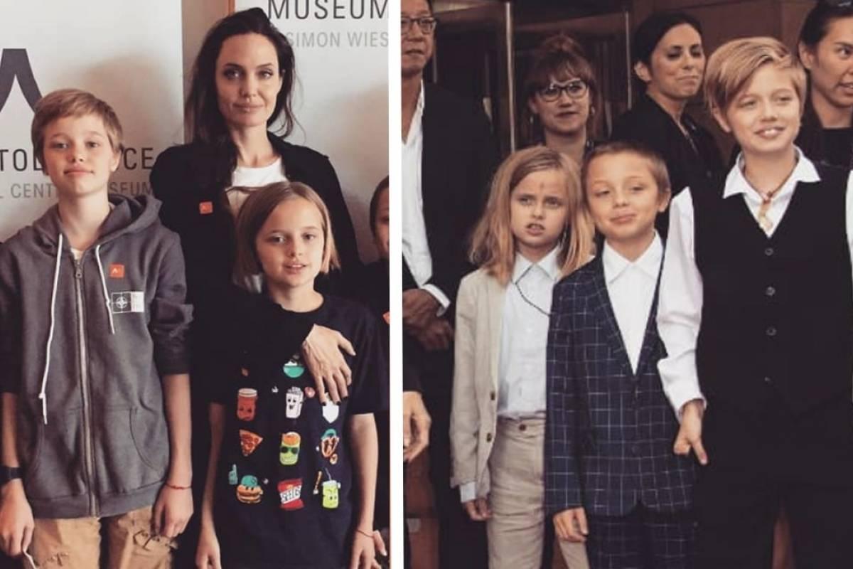 Las diferencias del estilo de Vivienne y Shiloh Jolie Pitt ...