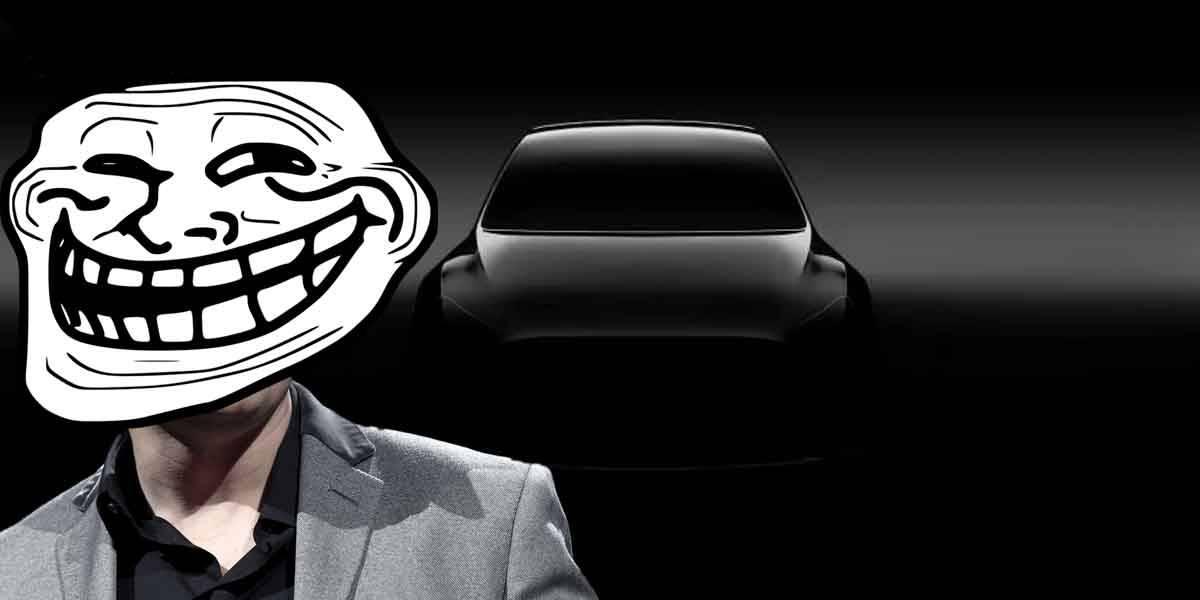 Elon Musk trolea todos con su foto del Tesla Model Y