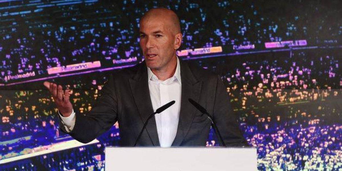 Zidane vuelve tras el parto de nueve meses del Real Madrid