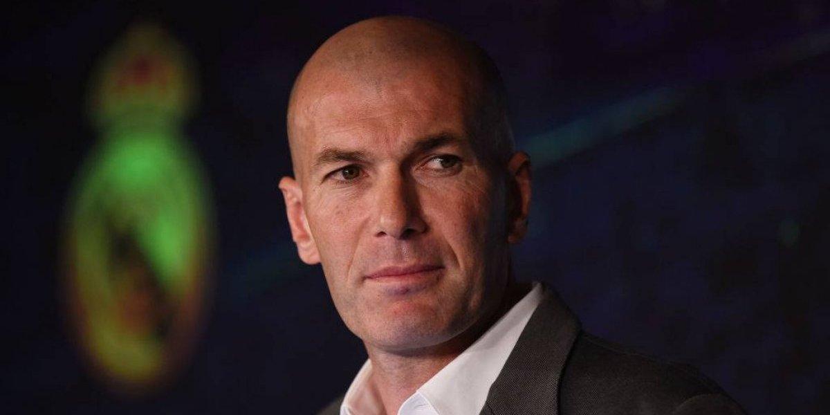 Zidane regresa al Real Madrid nueve meses después