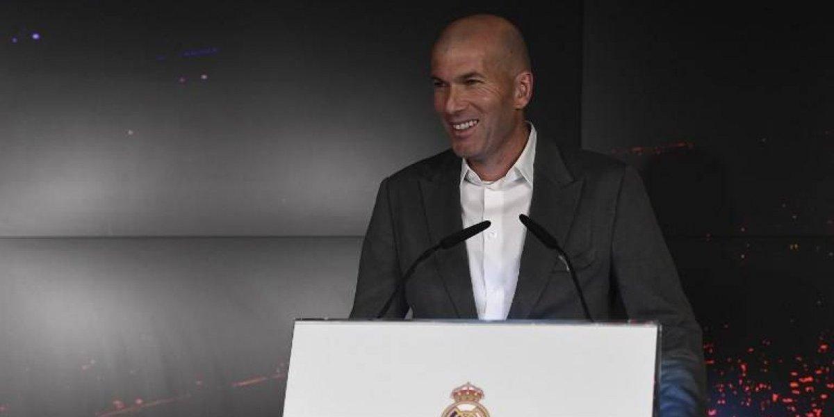 Zidane se refirió a Cristiano Ronaldo durante su presentación