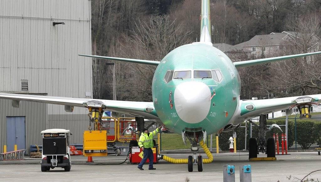 Boeing 737 Max 8. AP