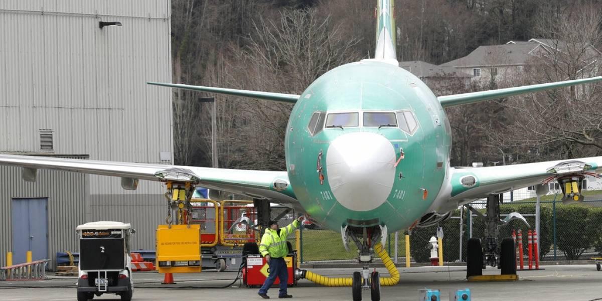 Detectan nuevo riesgo potencial en los polémicos aviones Boeing 737 Max