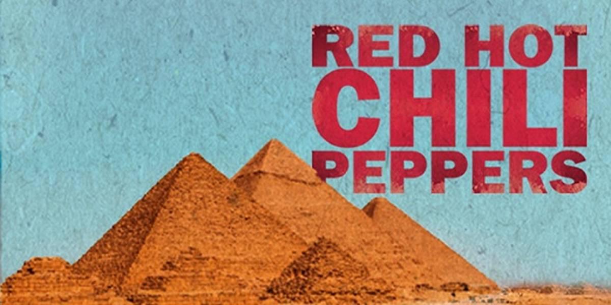 Red Hot Chilli Peppers transmitirán su concierto en pirámides de Giza por YouTube