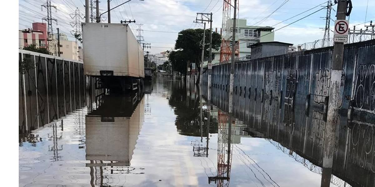 Após decreto de calamidade pública, São Bernardo segue com zonas de inundação