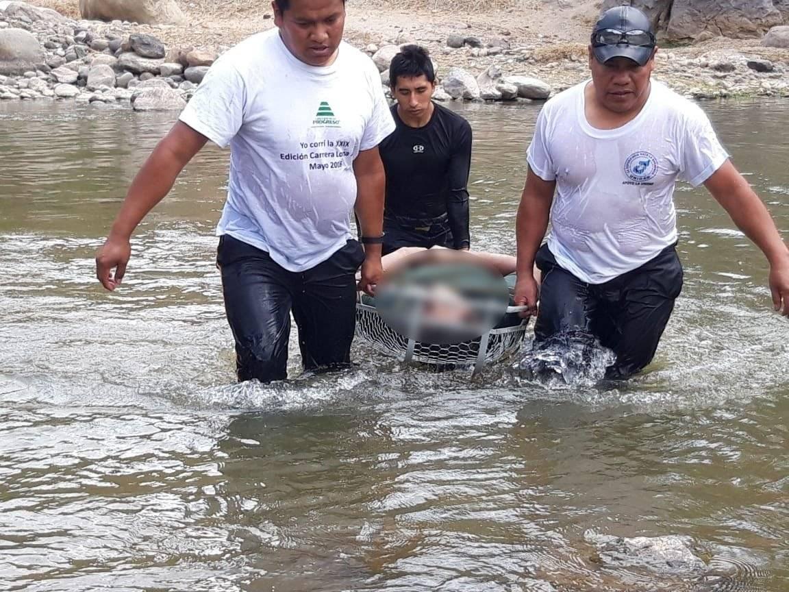 personas ahogadas en el río Motagua
