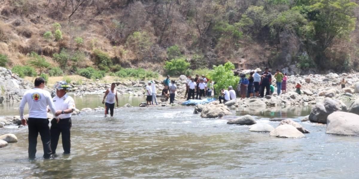Cinco personas mueren ahogadas en el río Motagua