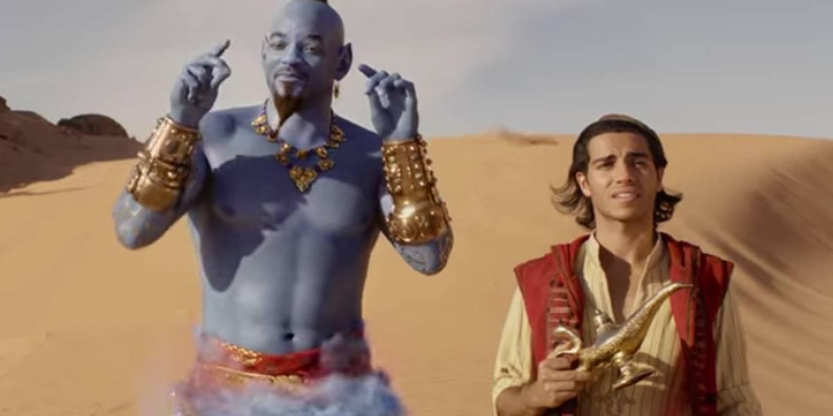 Finalmente! Adaptação em live-action de 'Aladdin' ganha trailer completo